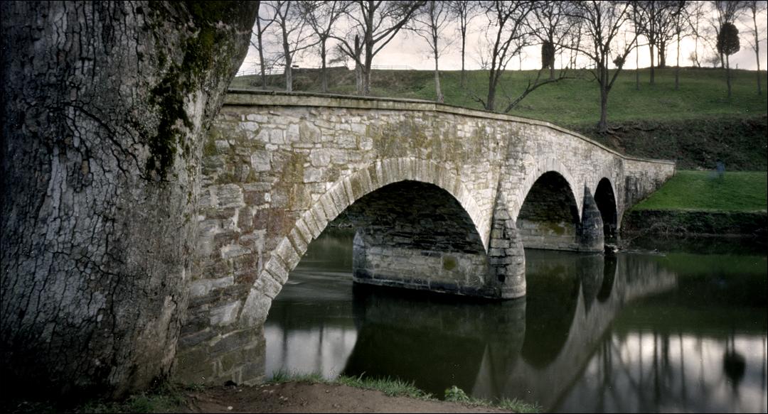 Antietam Creek Maryland Over The Antietam Creek