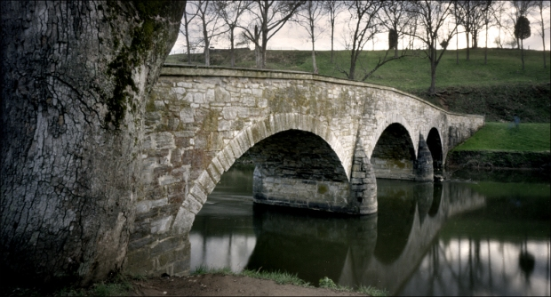 Burnside's Bridge over the Antietam Creek, Sharpsburg, MD. 2012