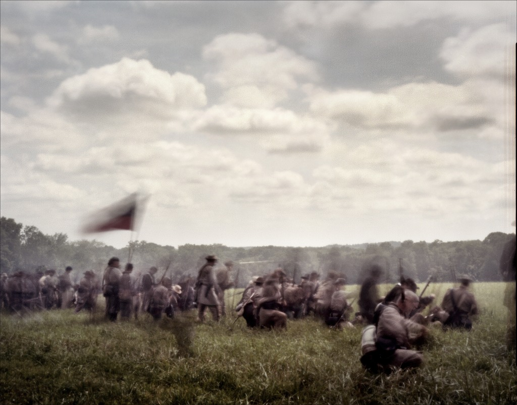 Reenactment of the Battle of Glendale in Elizabethtown, PA. 2012