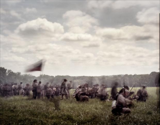 Reenactment of the Battle of Glendale in Elizabethtown, PA. 2012