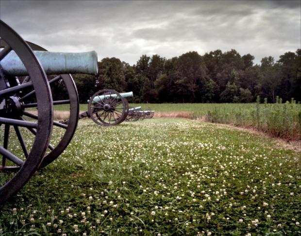 Battlefield at Malvern Hill, VA. 2012