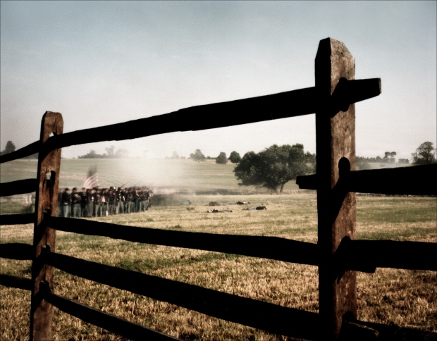 Reenactment at Gettysburg, PA. 2012