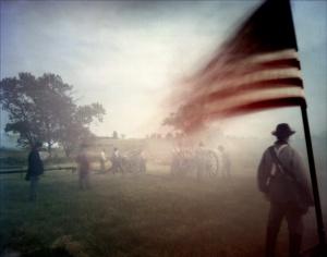 Reeenactment at Gettysburg, PA. 2012