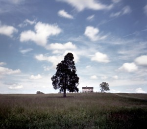 Henry House at the Manassas Battlefield, VA. 2012