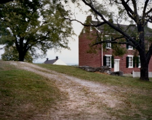 Union General McClellen's HQ during the battle of Antietam, the Pry House.  Sharpsburg. MD. 2012