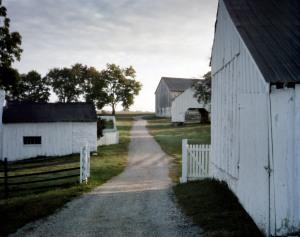 The Poffenberger Farm on the Battlefield at Antietam, Sharpsburg, MD. 2012