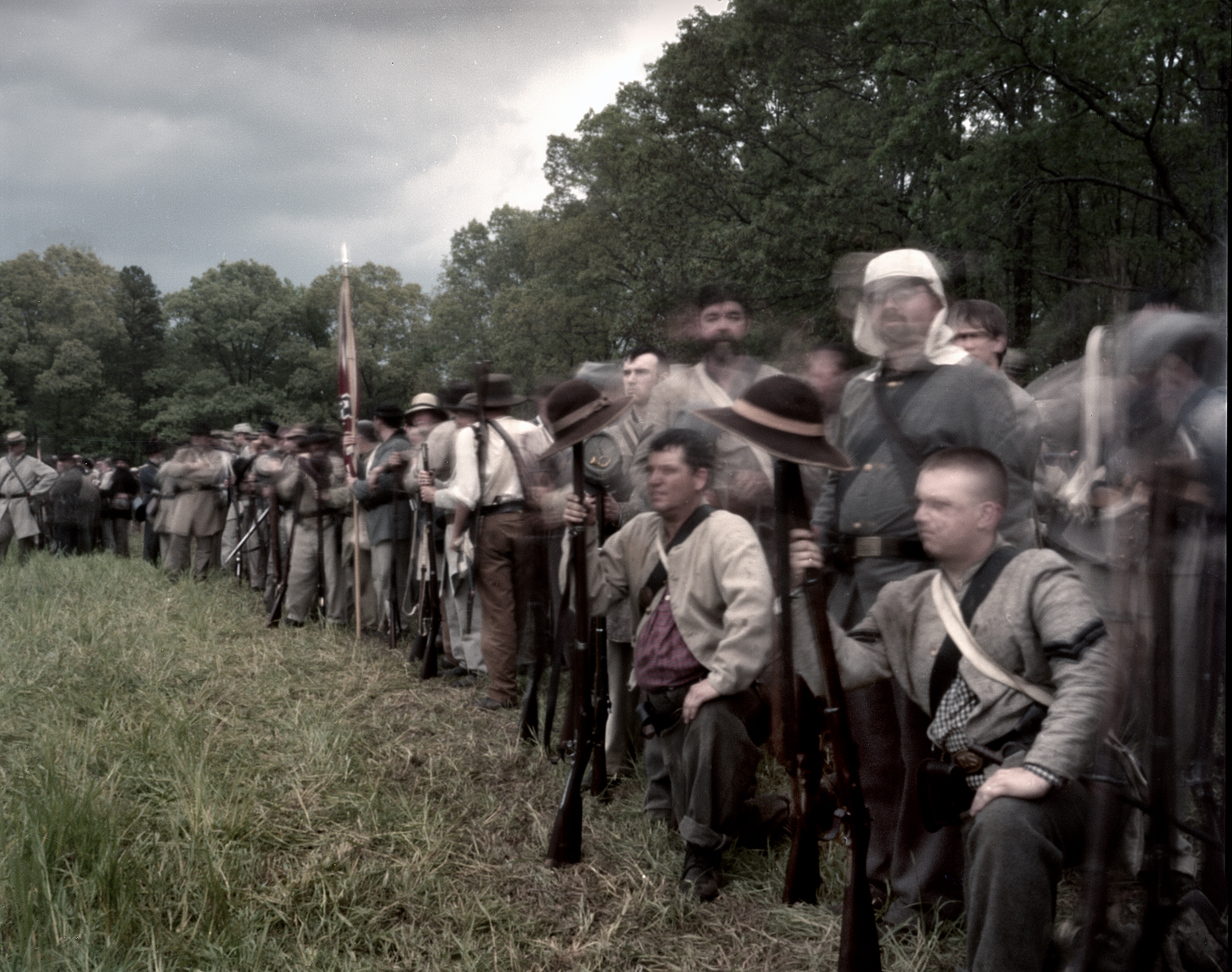 The events during the battle of shiloh