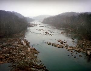 The Rappahannock River at Fredericksburg, Va 2012