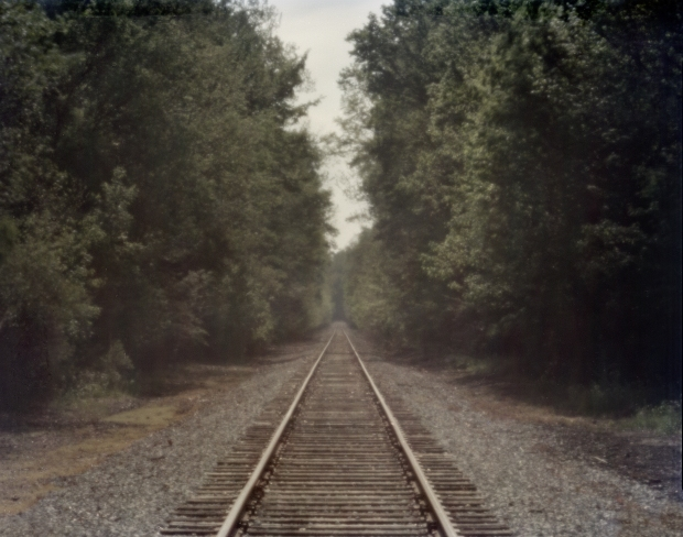 Railroad outside Corinth, Mississippi. 2012
