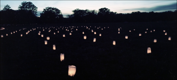 Luminaries on the Battlefield at Shiloh, TN. 2012