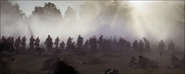 Reenactment of the Battle for Marye's Heights, Fredericksburg, Va 2012