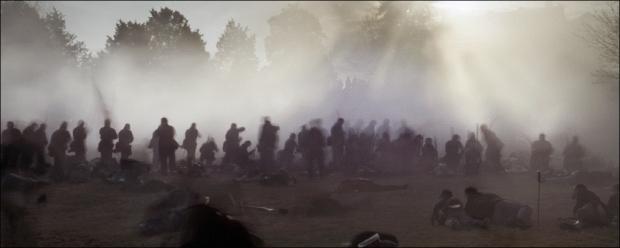 Reenactment of the Battle for Marye's Heights, Fredericksburg, Va 2012