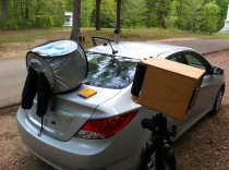 Film changing in the Field at Shiloh Military Park