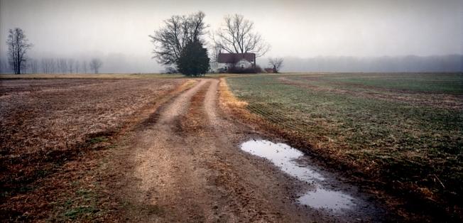 The Slaughter Pen Farm, Fredericksburg Battlefield, Va 2012
