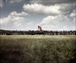 Reenactment of the Battle of Shiloh in Michie, TN. 2012