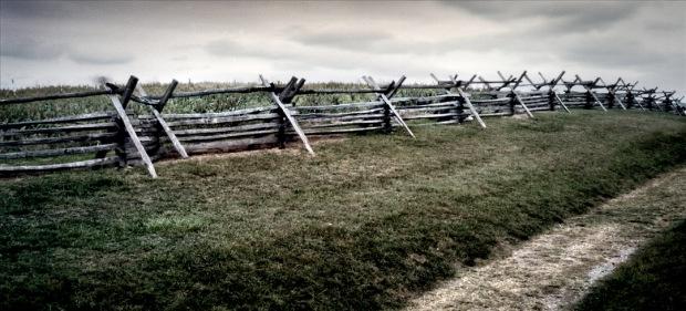 Sunken Road, later known as Bloody Lane at Antietam