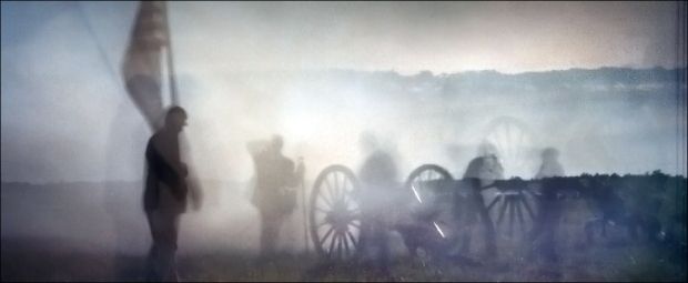Civil War reenactment near Gettysburg, PA. 2012