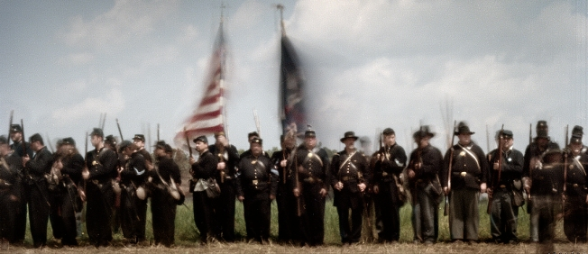 Shiloh reenactment in Michie, TN. 2012