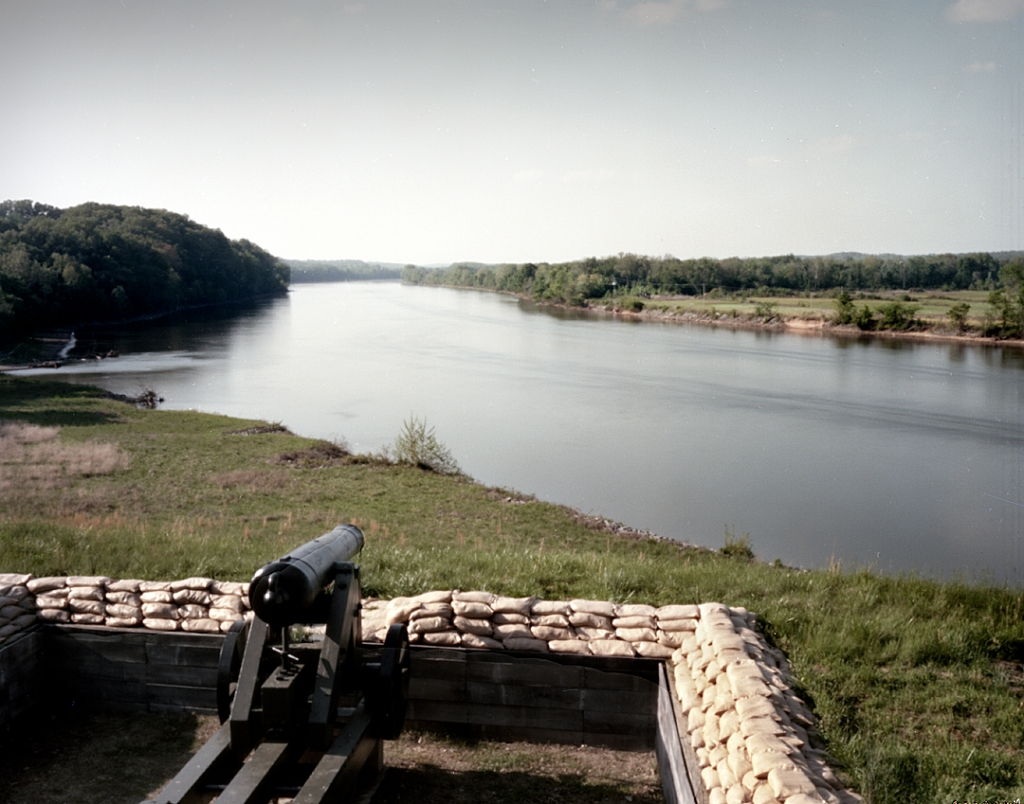 River Batteries on the Cumberland River at FT Donelson, Dover, TN 2012