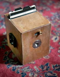"New 4 inch camera with internal ""shutter"" by Henry Falco"