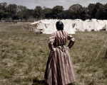 Waiting in camp at the reenactment of the Battle of Chancellorsville in Spotsylvania County, Va 2013.