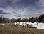 Confederate camp at the reenactment of the Battle of Chancellorsville in Spotsylvania County, Va 2013.