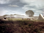 The reenactment of the Battle of Chancellorsville in Spotsylvania County, Va 2013.