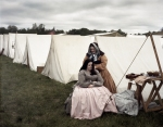 In camp during the reenactment of the Battle of Chancellorsville in Spotsylvania County, Va 2013.