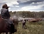 Stonewall Jackson, aka Greg Randall, during a reenactment of the Battle of Chancellorsville in Spotsylvania County, Va 2013.