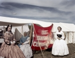 The US Sanitary Commission during a reenactment of the Battle of Chancellorsville in Spotsylvania County, Va 2013.