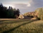 Sunrise at Fairview looking toward Hazel Grove on the Battlefield at Chancellorsville, Va 2013