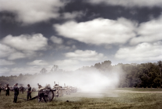 Reenactment of the Battle of Chancellorsville. 2013