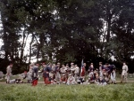 """The """"Louisiana Tigers"""" at a Seven Days Battle reenactment in Elizabethtown, Pa 2012."""