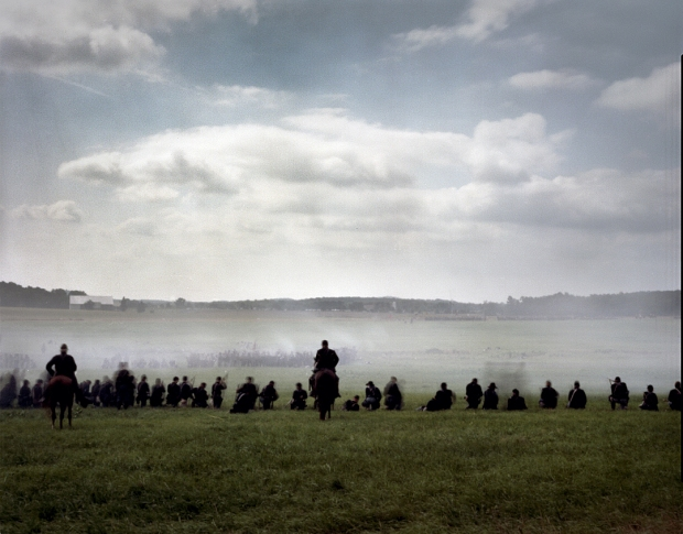 Buford's dismounted calvary holds the line on day 1 at Gettysburg. 2013