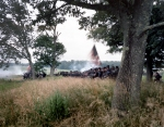 Iron Brigade in action at Gettysburg, Pa. 2013
