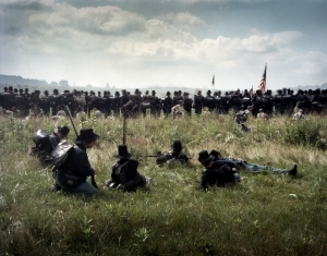 The Iron Brigade on day 1 at Gettysburg