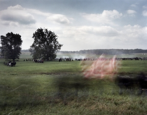 The Iron Brigade arrives on the field in the nick of time on day 1 at Gettysburg.