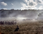 Confederates push Union troops from the field at Gettysburg, Pa 2013