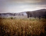 The direction of Longstreet's massive attack on July 2nd looking toward the Round Tops, Gettysburg, Pa. 2013