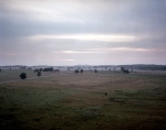 View looking from Seminary Ridge over the Battlefield at gettysburg, Pa 2013