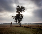 The Angle near the Copse of Trees on Cemetery Ridge at Gettysburg, Pa. 2013