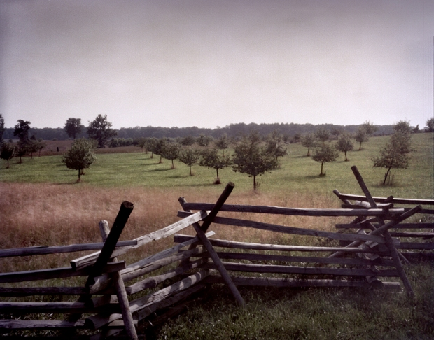 The Peach Orchard on the Battlefield at Gettysburg, Pa. 2013