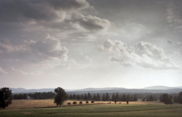 The Eisenhower Farm on Seminary Ridge, the Battlefield of Gettysburg, Pa. 2013