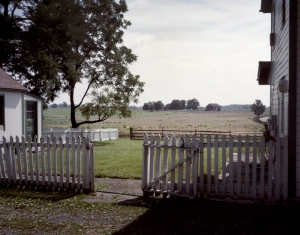 The battle raged through the small farms that dot the Battlefield at Gettysburg, PA 2013.