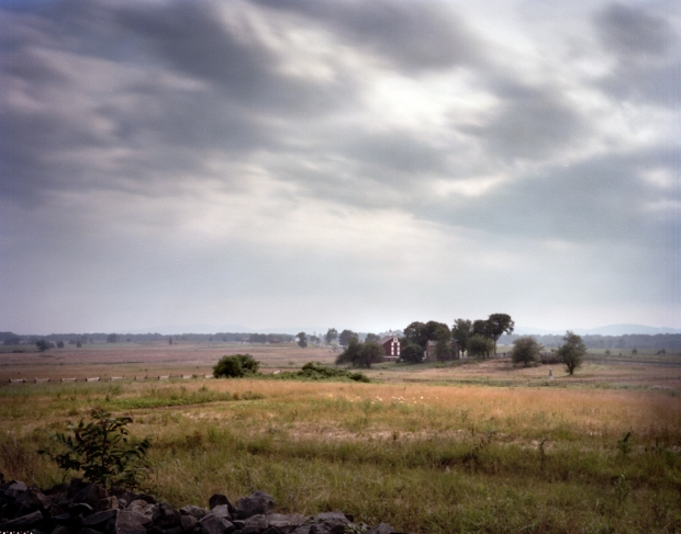 The Codori Farm on the Emmitsburg Road on the Battlefield at Gettysburg. 2013
