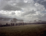 "The battle subsides on ""Cemetery Ridge"" at Gettysburg 2013."