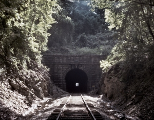 In 1863 Whiteside Tunnel was part of the battleground in the fight for Missionary Ridge.