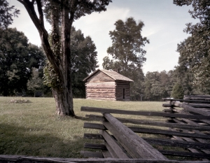 The Brotherton Cabin site of Longstreet's breakthrough attack at Chickamauga.