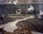 Double exposure of the Tennessee River and the Lee & Gordan Mansion in Chickamauga, Ga 2013