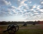 Guns along Snodgrass Hill on the Battlefield at Chickamauga, Ga 2013.